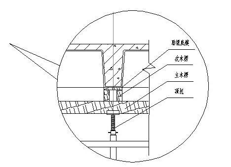 模壳安装及其模板支架的安装与拆除工艺